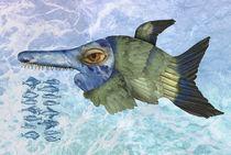 Blauer Fisch von pahit