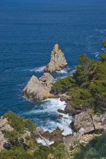 Felsen im Meer von pahit