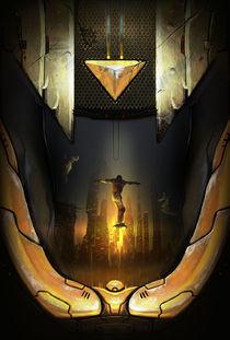 Atomhawk (poster design) von Saad  Irfan