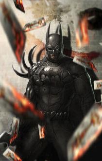 Dark knight von Saad  Irfan