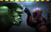 Hulk vs pool by Saad  Irfan