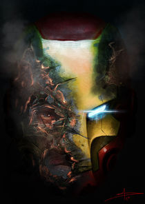 Iron man by Saad  Irfan