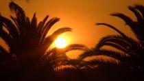 Sonnenutergang-Sant Pere Pescador von theresa-digitalkunst
