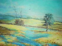 Field of lavender / Feld von Lavendel von Apostolescu  Sorin