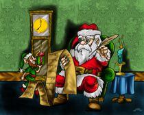 Santa's list von Thomas Barnett