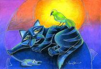 Night Seasons (Kitty's gone a Hunting) von Alma  Lee