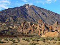 Teneriffa, Las Canadas und Pico de Teide von Frank Rother