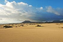 Fuerteventura, Dünenlandschaft bei Corralejo von Frank Rother