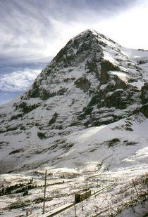 Eiger-Nordwand von Ulrike Ilse Brück