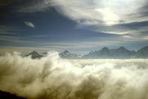 Über den Wolken von Ulrike Ilse Brück