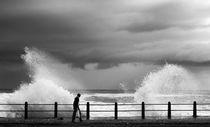 crashing wave by Stephen Williams