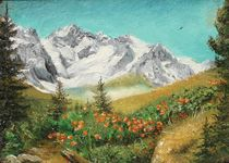 Summer in the mountains / Sommer in den Bergen von Apostolescu  Sorin