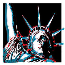 Lady Liberty by vectorvault