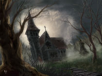 Haunted Church by Rob Stilwell