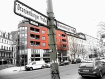 Berlin Oranienburger Strasse by Karina Stinson
