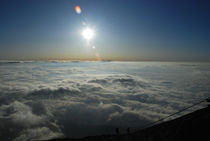 Japan - Mt. Fuji - Summit Sun Rise by Qi Xin