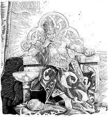 King Krishna by Apriyadi Kusbiantoro