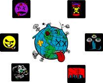 World Sicknesses von Lukasz Wójcik