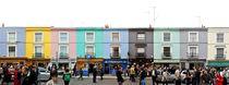 London - Portobello Road Market Panorama von street-panorama