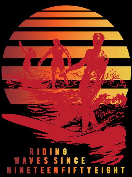 Riding-waves-t-shirt