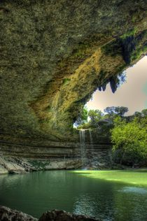 Hamilton Pool Preserve by Quentin Griffin