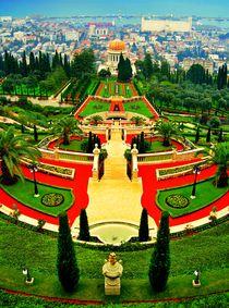 Bahai Gardens by Karina Stinson
