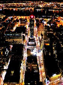 New York City at Night by Karina Stinson
