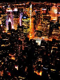 New York City Lights by Karina Stinson