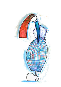Pencil Doll von RITA FAZENDEIRO