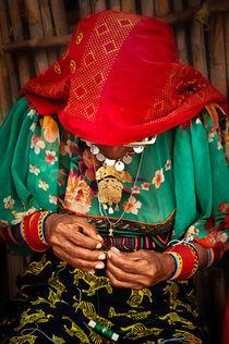 Kuna Woman Weaving