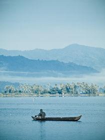 lonely boat by yudasmoro
