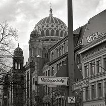 Neue Synagoge - Oranienburger Strasse, Berlin by captainsilva
