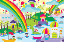 rainbow land by Vianna Valentina