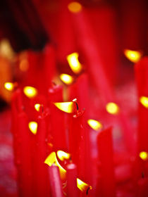 red candles von yudasmoro