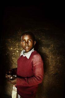 Young Maasai von Simon Morelli