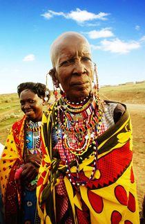 Masai woman von Simon Morelli