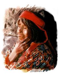 tarahumara indian woman von Ruben Strada