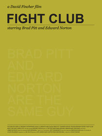 Spoiler Poster! Fight Club von Gidi Vigo