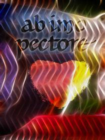 ab imo pectore poster von Lutz Baar