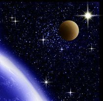 Sonne, Erde, Mond. von Bernd Vagt