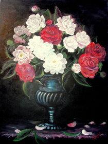 Peonies in vase. / Pfingstrosen in Vase. by Apostolescu  Sorin