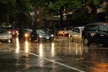 Rainy road von alfoart