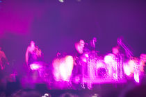Abstract blur of a band by Ján Kolcák