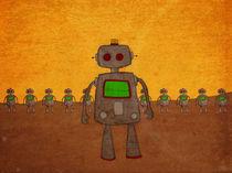 When Robots Attack. by Alejandra Ramirez