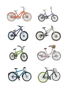 pick your bike by Nina Gregier