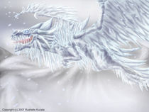 Dragon of Ice by Rushelle Kucala