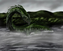 The Monster of Loch Ness von Rushelle Kucala
