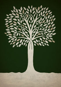 Mystical Tree von Amy-Jean Hahndiek