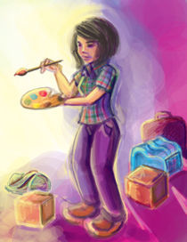 the traveler von Lina Tarek