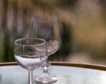 Two glass cups by Andrii Bilokon